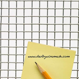 Galvanized Hardware Cloth - Buy Online | Darby Wire Mesh