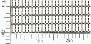 3-1/2 x 9 Mesh, T-304 Stainless Steel Woven Wire Mesh. Custom Woven Wire Mesh
