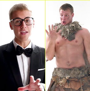 Bieber, Gronk - Super Bowl Commercial